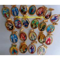 Casamentos,medalhinhas Santo Antônio Dourada Pcte C/ 25 Pçs.