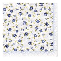 Kit C/ 20 Guardanapos P/ Decoupage Floral 33cm Toke E Crie
