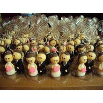 20 Lembrancinhas De Casamento Noivinhos Em Biscuit