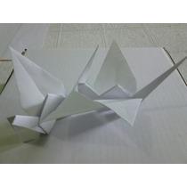 Origame Tsuru Branco 15 Cm - 100 Unidades