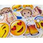 30 Plaquinhas Emoji Para Festas