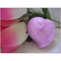 20 Sabonetes Coração Com Flor
