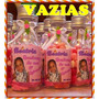 12 Garrafinhas De Pvc 50ml - Personalizadas Com Foto E Tema
