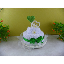 10 Lembrancinhas Bolinhos Cupcake Toalhas