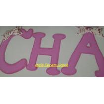 Letras Para Painel Decorativo E.v.a Kit C/ 10