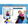 15 Canecas Acrílico Personalizada Frozen 300ml