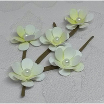 24 Ramos Flores Cerejeira - Origami Lembrancinha Sakura (am)