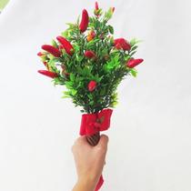 Buquê Casamento/noiva Bouquet De Pimenta / Amigas Casadas