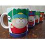 Canecas Personalizadas South Park, Caixa Com 4 Canecas