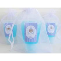 50 Lembrancinhas Personalizada Barata Maternidade Álcool Gel