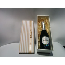 Caixa Mdf Decorada - 26x7,5x8,5 Mini Chandon / Mini Vinho