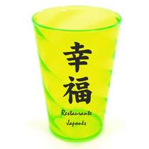 Copo Espiral Acrílico Personalizado Drink 730ml Kit 100 Unid