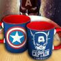 Caneca Personalizada Heróis Capitão America