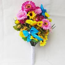 Buquê Bouquet Casamento/noiva Jardim Encantado Flores Lindas