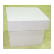 Kit Com 30 Unidades De Caixas Pintadas 15x15x5 Mdf
