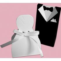 Caixinhas Para Bem Casado Noivinhos Pct C/ 24 Melhor Preço