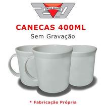 Caneca 400ml 1 Caixa C/ 50 Peças Sem Gravação Lisa