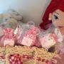 10 Mini Saches Perfumados Lembrancinhas Maternidade Chá Bebe