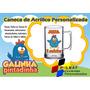 20 Canecas Acrílico Personalizada Galinha Pintadinha 300ml