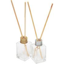 10 Frascos Difusor Aromatizador De 30ml Em Vidro Com Vareta