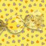 Papel De Trufa Coracoes Amarelo - Pct C/ 100 Und
