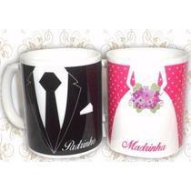 Canecas Personalizadas Padrinhos Casamento