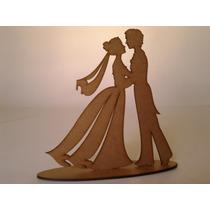 Topo De Bolo Mdf 3 Mm Decoração Casamento Noivado Noiva