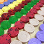 10 Sabonetes Artesanais De Glicerina Com Extrato De Aveia