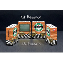Caixinha Kit Ressaca, Kit Buteco, Kit Formatura - 50 Unid.
