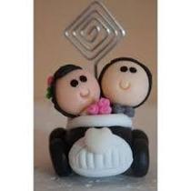 Lembrancinha Casamento Personalizada Em Biscuit