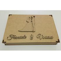 10 Caixas Convite De Casamento Padrinhos Com 5cm De Altura