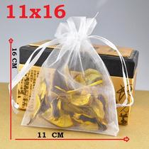 Saquinhos De Organza 11 X16 Cm Kit 50 Saquinhos
