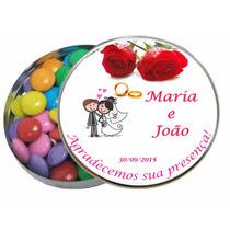 100 Latinhas Personalizadas: Casamento, Aniversário + Brinde