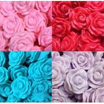 20 Sabonetes Mini Rosas 10g