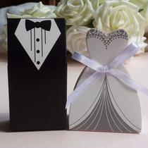 Caixinha Para Doces Noivinhos Lembrancinha De Casamento