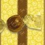 Papel De Trufa Indiano Amarelo - Pct C/ 100 Und