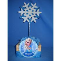 Frozen Centro Mesa Personalizado Tema Frozen