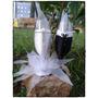 Taças Personalizada Para Casamento- Brinde Dos Noivos- Par