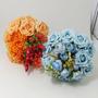 Buquê Bouquet Casamento/noiva Rosas Azuis Hot And Cold