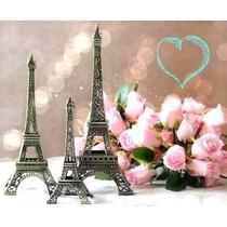 Lembrancinha Casamento Aniversário Torre Eiffel 18cm 30 Unid