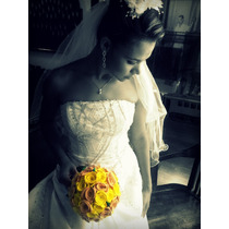 Buque De Noiva Casamento Eva + Porta Aliancas