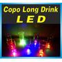 Copo Long Drink Led - Sem Personalização ( Liso) Brindes