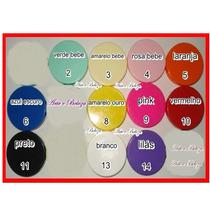 50 Latinha Plastica Coloridas 5x1 Para Personalizar