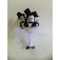 Buquê Para Casamento Sto Antonio, Sapo, Pinguim, Pimenta.