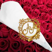Porta Guardanapo Personalizado Casamento Mdf (unidade)
