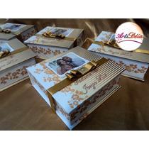 Caixa Convite Box Especial - Padrinhos De Casamento
