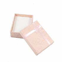 Caixa De Presente Porta Joia Decorada - Várias Cores