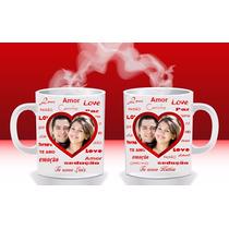 Caneca Personalizadas Porcelana P/ Casamento E Outros