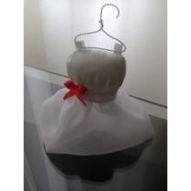 Lembrancinha De Casamento Mini Vestido De Noiva
