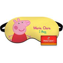 40 Máscara De Dormir Personalizadas Peppa Pig E Gerge Pig
